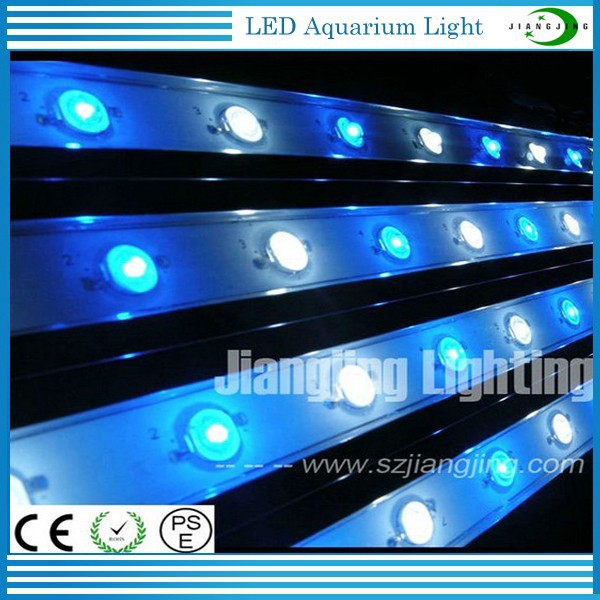 Newest 15w 460nm 14000k for Growing Coral Reef Used Led Aquarium Light