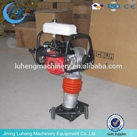 Good quality Construction Machinery 75kg Gasoline Tamping Rammer With Honda GX160