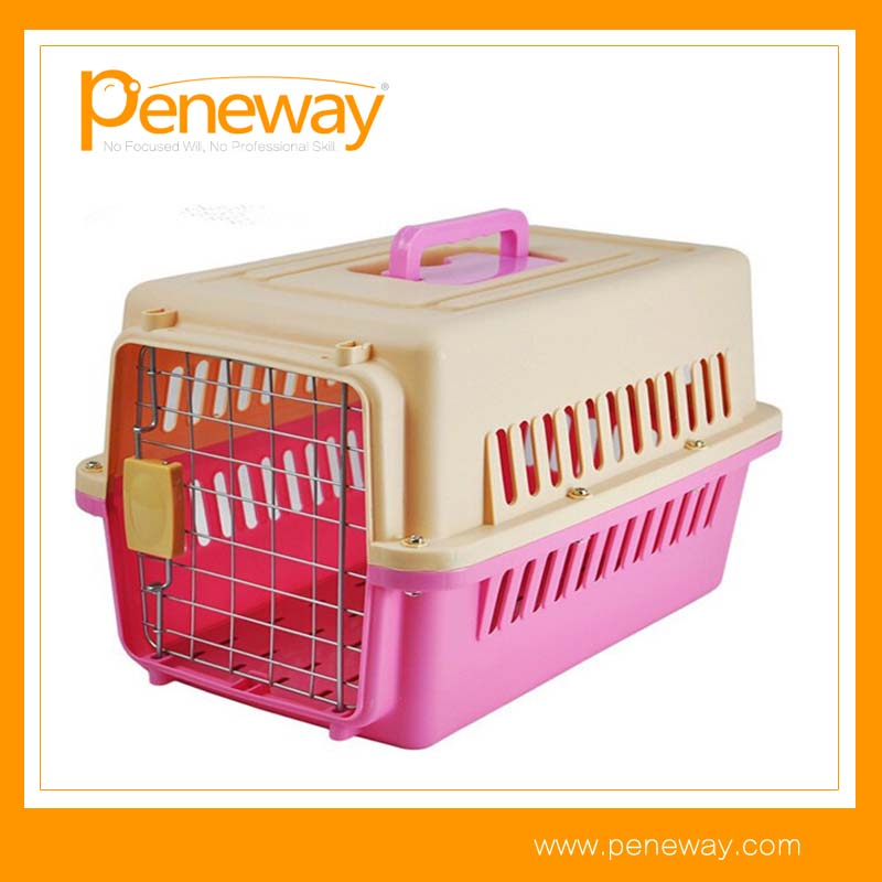 Commercial travel animal carrier pet crate dog cage