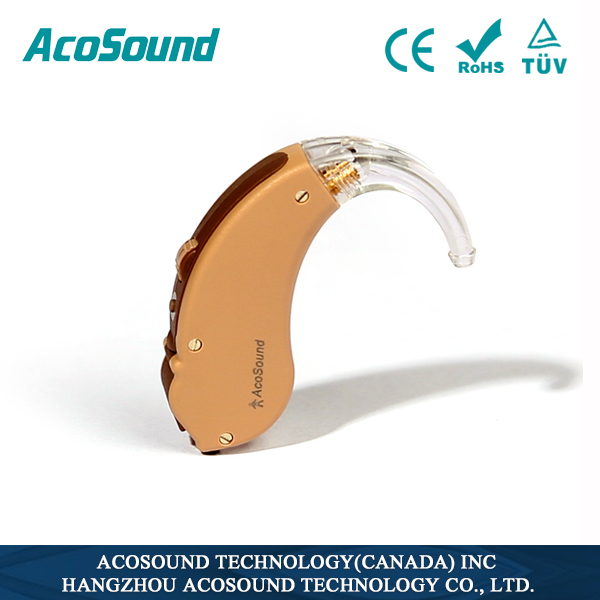 AcoSound Acomate 210 BTE helping deafness mini portable mini hearing aid
