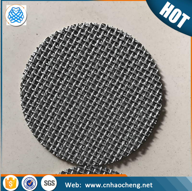 60 70mm round stainless steel wire mesh screen for sprouting seeds lid
