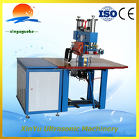 Brand new high frequency PVC double head feet step welding machine