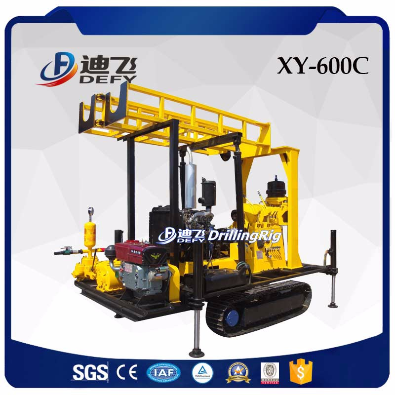 XY-600C brand new water well drilling equipment, water well drilling rig price