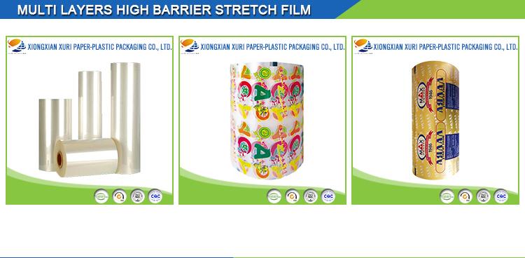 Face arrière d'étanchéité bopp sac d'emballage popsicle emballage en plastique sac d'emballage de popsicle/glace paquet/congélateur en plastique pop sacs