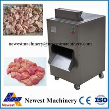 Factory price fresh meat cube cutter/chicken breast cube cutting machine