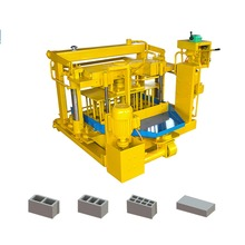 QMY4-30A hollow concrete brick machine