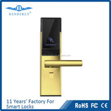 ce certificated hotel card lock hotel lock