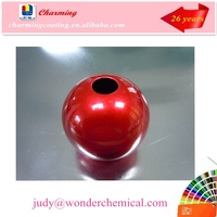 nanotechnology mirror effect high luster transparent red epoxy powder coatings