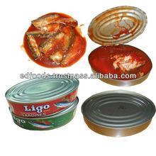 Canned Sardines Fish
