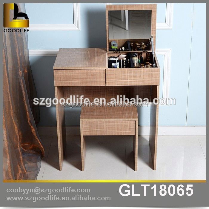 Factory direct makeup cheap dressing table with Mirrors