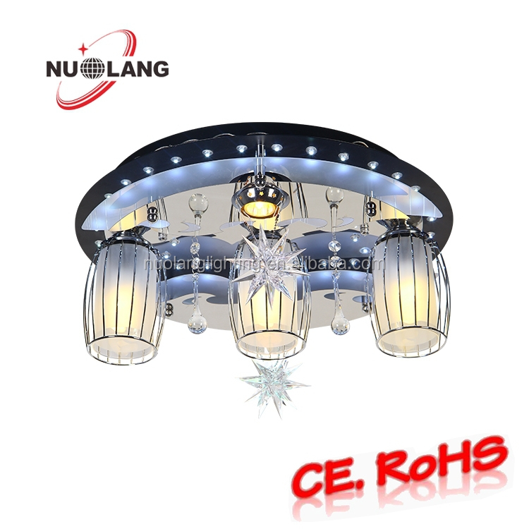 Wholesale china market round shape led ceiling lamp