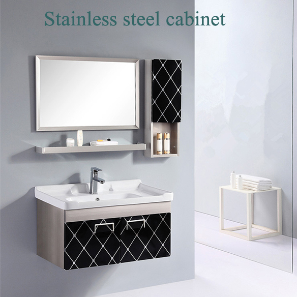 Sanitary ware of Vitreous china black matt basin sink