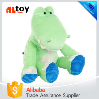Green Sitting Alligator Plush Animal Baby Toy