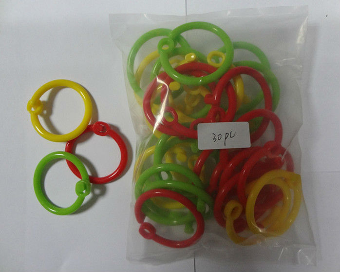 Plastic colorful ring