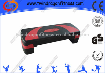 Adjustable aerobic Anti Slip Step/step bench