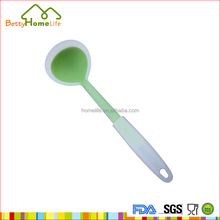 Wholesale hot selling custom food soup ladle silicone kitchen utensils