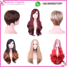 Wholesale Cheap Fashion Synthetic Women Human Hair Wig
