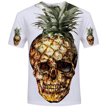 Free Shipping New Fashion Men Clothing Harajuku Printed 3D Cartoon T Shirt
