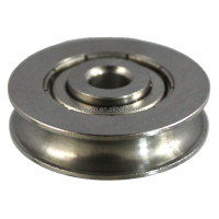 Stainless Steel U Groove Bearing For