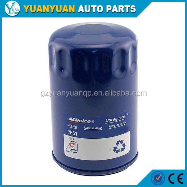 PF61 Engine Oil Filter 2004 -2012 Chevrolet Colorado 2006-2010 Chevrolet Malibu 2004 -2009 Chevrolet Trailblazer