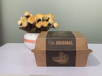 paper folding lunch box,kraft paper box for food