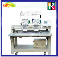 New condition cap/flat computerized embroidery machine/computer embroidery machine for sale