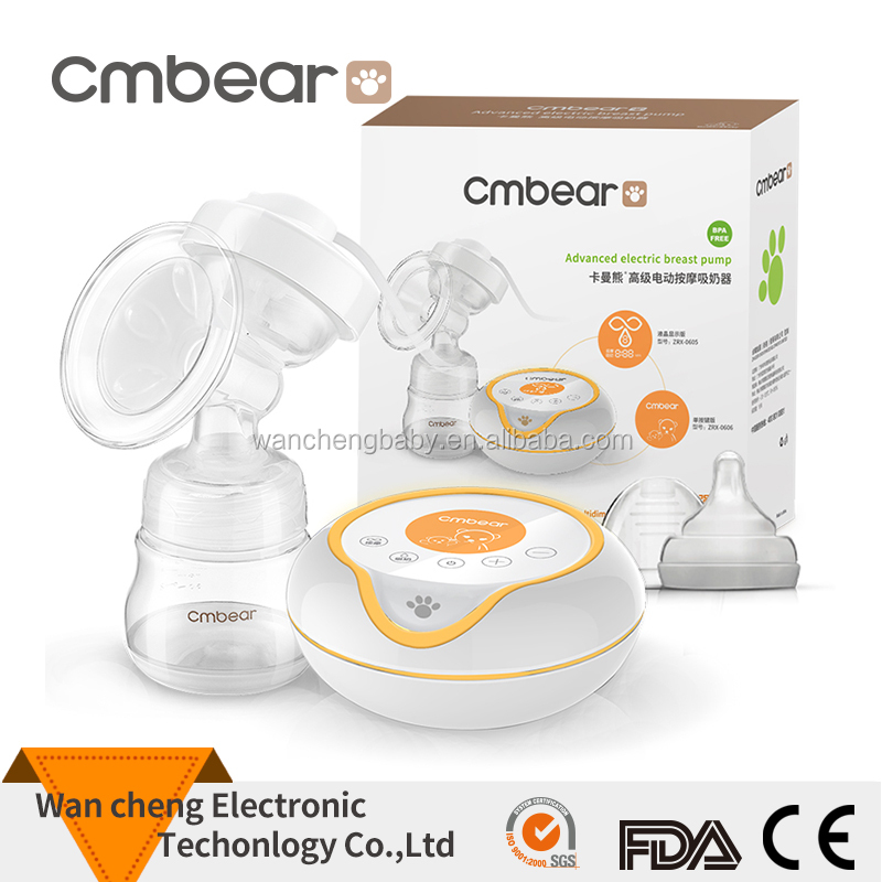 High Quality Single Electric Breast Pump BPA Free With Rechargeable Battery