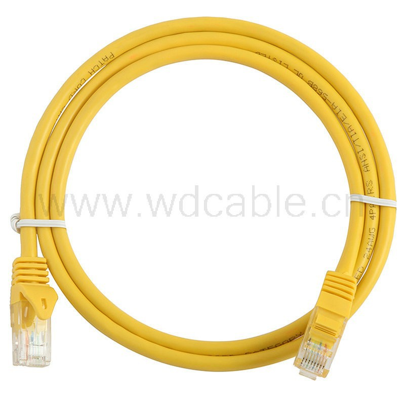 CE RoHS CCC standards Lan Cable Cat5 cat 6 patch Cord