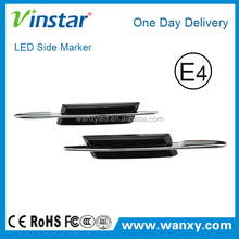 china auto accessories special car led logo lights (Smoked, without M logo)
