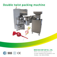 high speed lollipop packing double twist machine for promotion