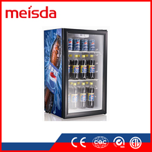 Hot Sale SC98 OEM Fan Cooling Fridge ETL Pepsi Display Cooler