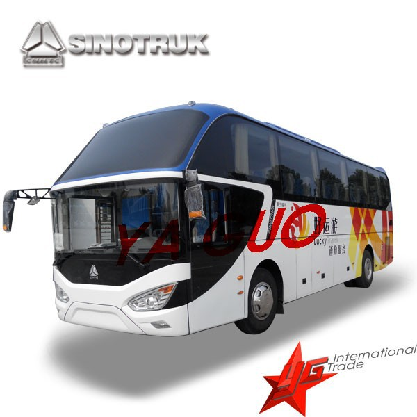 Sinotruk Howo JK6117HA bus 45-55 SEATS LUXURY COACH BUS FOR SALE