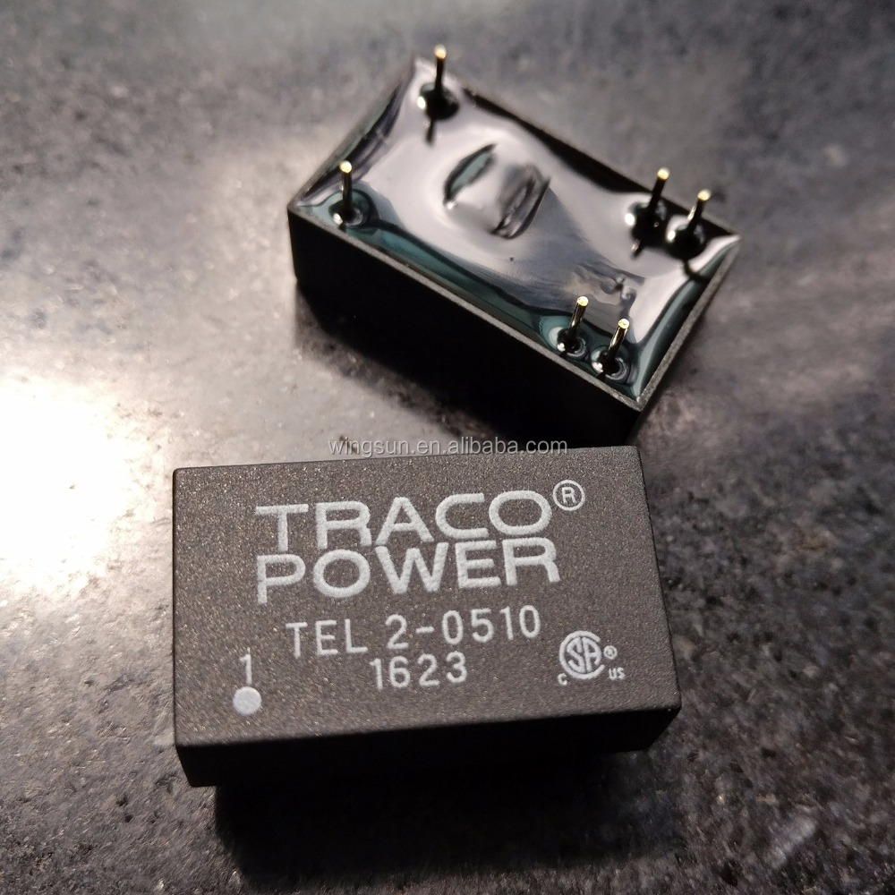 TEL2-0510 TRACO POWER DC/DC Converter 2Watt input from 4.5v to 75vdc output 3.3v to 15vdc