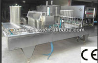 factory price customized automatic yogurt cup packaging machine with ce
