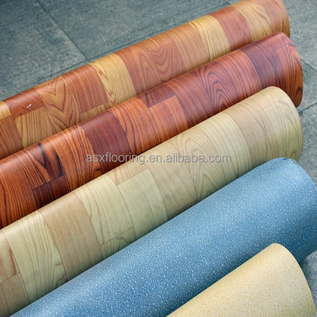 Recycled environment protect plastic floor covering