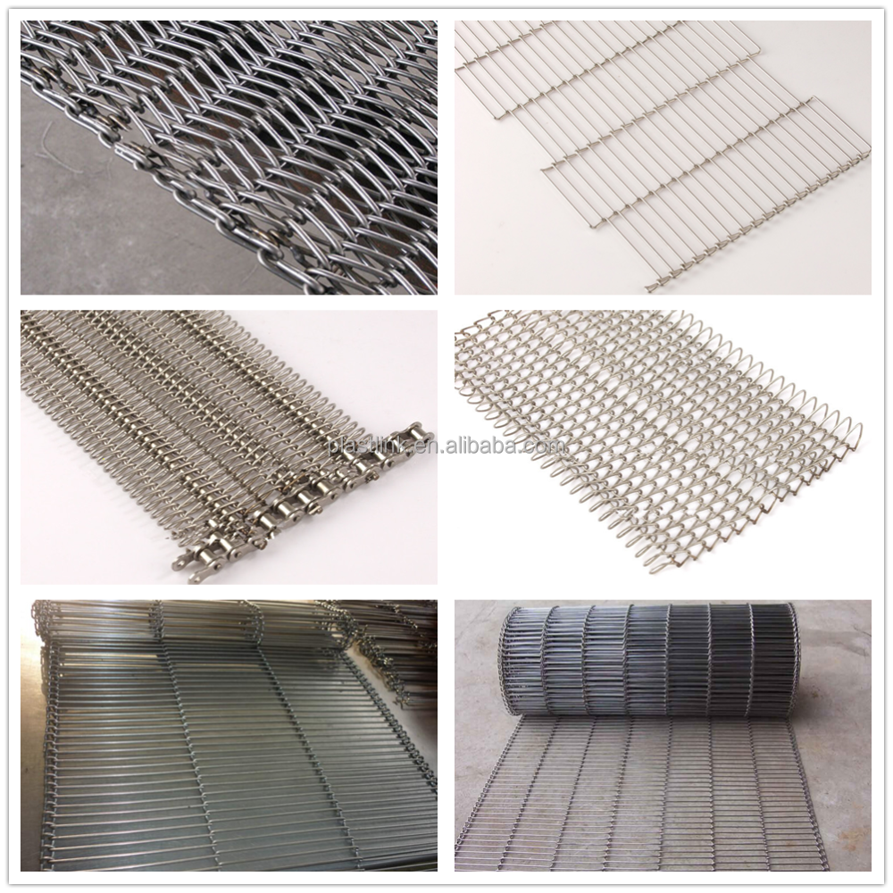 cooling and freezing Stainless steel wire mesh conveyor belt low price manufacturer in shanghai