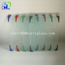 Float glass type clear wholesale tempered glass cutting boards