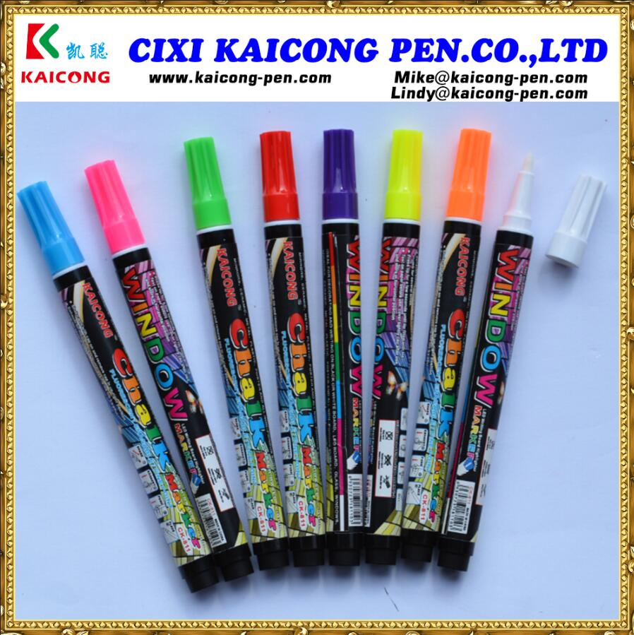 iPOSCA Water-based Window Marker Liquid Chalk Marker chalk pen blackboard marker pen