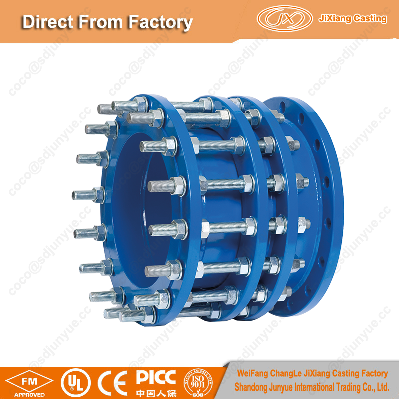 Hot sale in Korea Market pipe fitting dismantling expansion joint with ISO certification