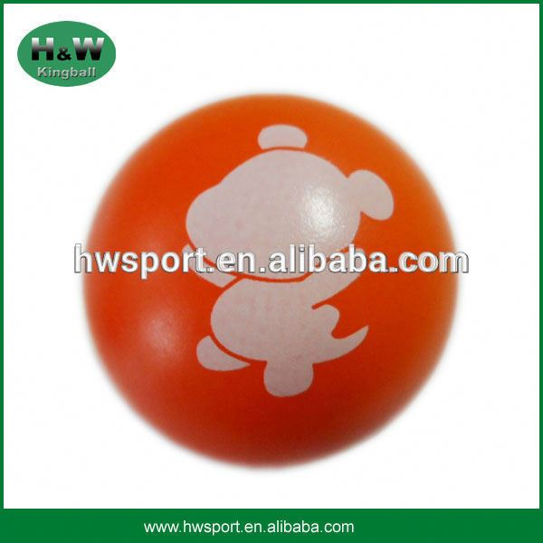 Customized PU stress reliever ball, stress toy ball