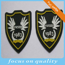 3d patch silicone trademark for bags sewing main marks