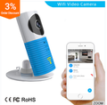CE ROHS FCC Smart Camera WiFi/3G APP control Supporting Mobile remote monitoring two-way voice intercom WIFI IP Camera
