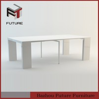 Extension computer and dining table!MDF with veneer table