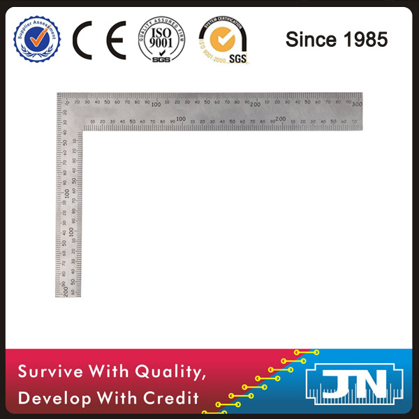 Stainless Steel Try Square 200*300mm L Square Angle Ruler