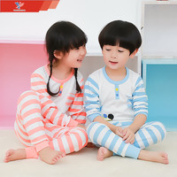 100 Cotton Cartoon Pattern Kids Pajamas