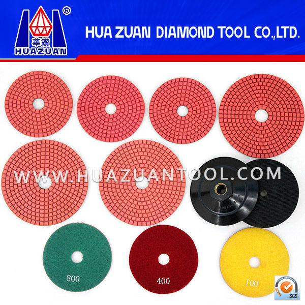 High Quality Honeycomb Type Diamond Floor Polishing Pad