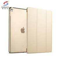 Custom for apple smart cover for ipad air 2 case for ipad pro 9.7 12.9 inch stand cover