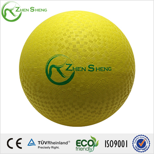 ZHENSHENG Good Bounce Performance Rubber Playground Ball