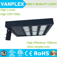 LED shoe box light high power for Sea Port Land with 5 years warranty UL DLC FCC cUL approved