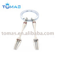 promotional fashion metal key chain with fork decors